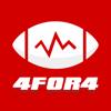 4for4 Fantasy Football Draft Cheat Sheet