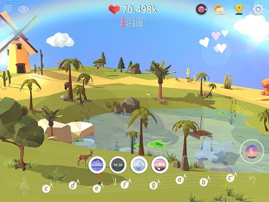 마이 오아시스 - 힐링되는 하늘섬 키우기 앱스토어 스크린샷