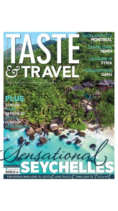 Taste & Travel International By MAGAZINECLONER.COM US LLC