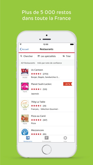 download Just Eat (Allo Resto) apps 0