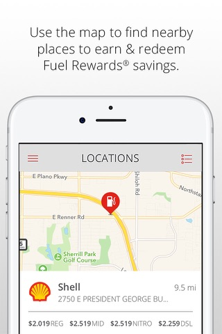 Fuel Rewards® program screenshot 3