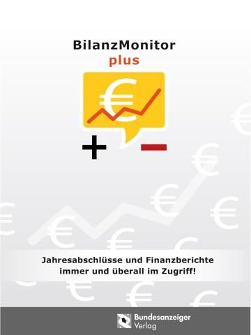 BilanzMonitor Plus screenshot 1