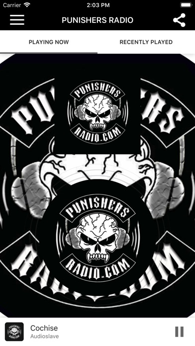 PUNISHERS RADIO screenshot 1