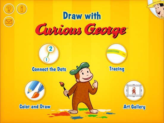 Draw With Curious George On The App Store