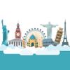 TravelEmoji - Vacation Travel Emoji Sticker App Icon