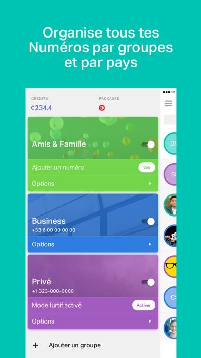 download onoff - Numéros, SMS, Appels apps 3