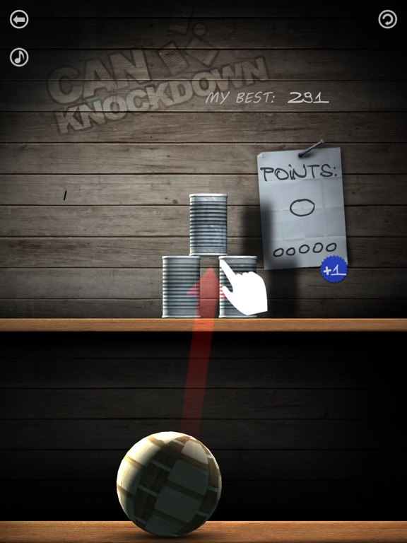 Screenshots of Can Knockdown for iPad