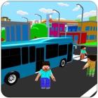 Autobús de pasajeros de la ciu icon