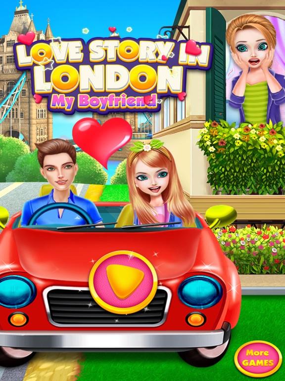 Любовная история в Лондон Скриншоты6
