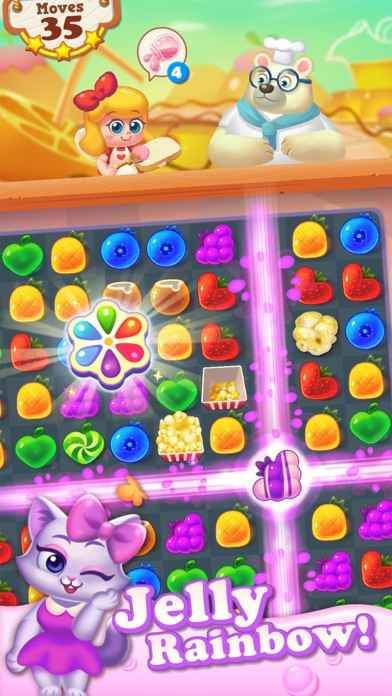 Tasty Treats - A Match 3 Puzzle Game Скриншоты4