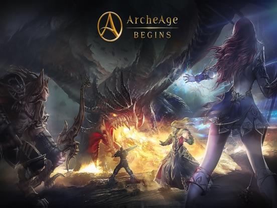ArcheAge BEGINS на iPad