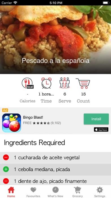 download Recetas sanas y fáciles apps 2