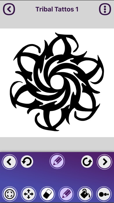how to draw tribal tattoos app download android apk. Black Bedroom Furniture Sets. Home Design Ideas