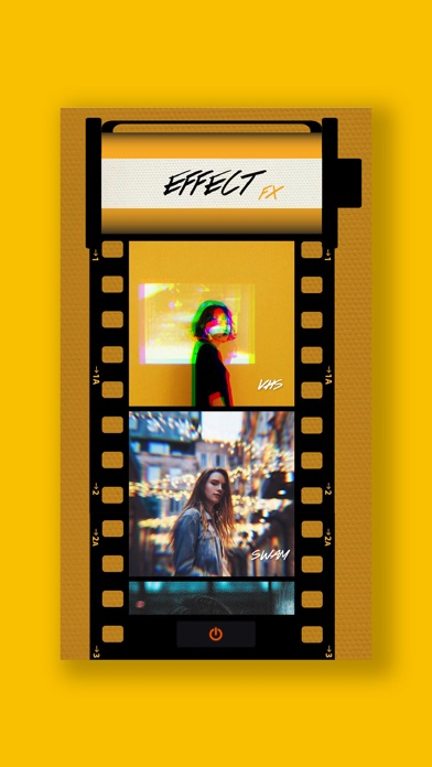Glitch photo 3d photo editor app report on mobile action 3d editor