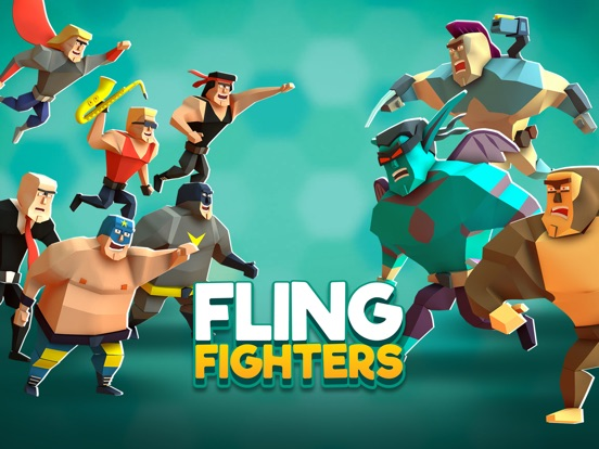 Игра Fling Fighters