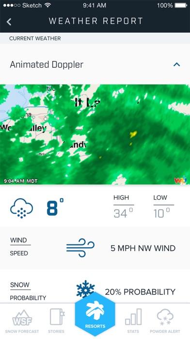 Ski Utah Snow Report Скриншоты7
