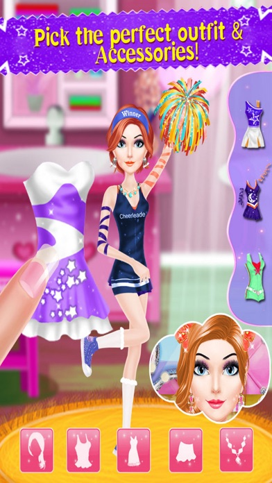 Cheer Leader Princess Salon PRO Screenshot 3