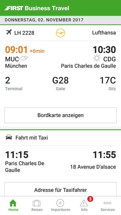 Screenshot von FIRST® Mobile Traveller1