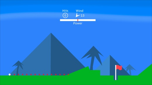 Golf Maestro - One touch golf game for IOS/Android Image