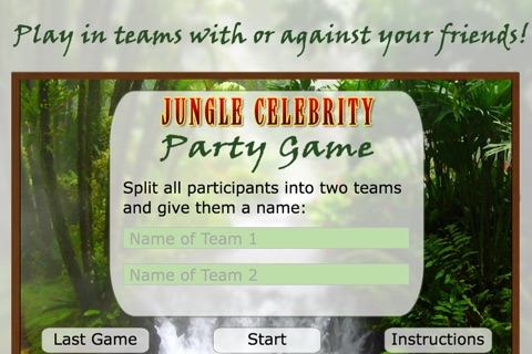 I'm A Celebrity Party Game screenshot 1