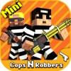 Cops N Robbers (FPS): 3Dピクセルガン