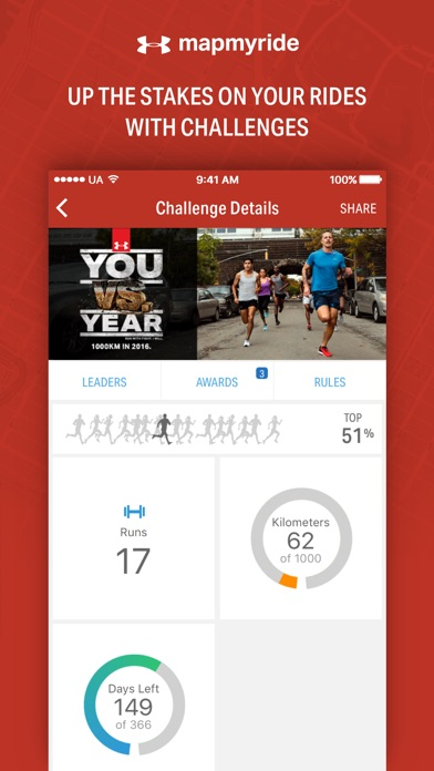 download Map My Ride by Under Armour appstore review