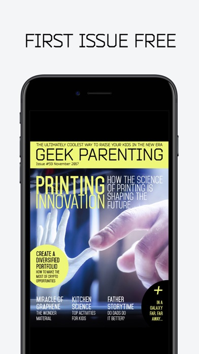 Geek Parenting Magazine Wired Kids For The Future review screenshots