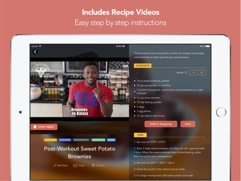 Fit Men Cook - Healthy Recipes screenshot 3