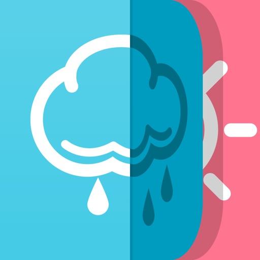 FINE!天気|かわいいアートな天気予報