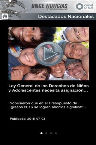 ONCE NOTICIAS screenshot 3