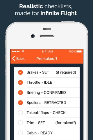 IF Checklists screenshot 2