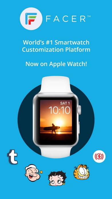 Facer – Free Watch Faces & Customization Platform Screenshot