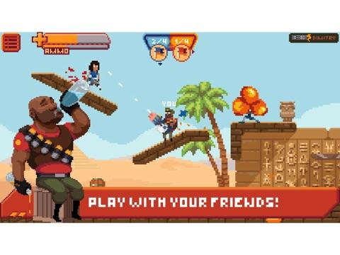 Gangfort - Online 2D Platformer Shooter на iPad