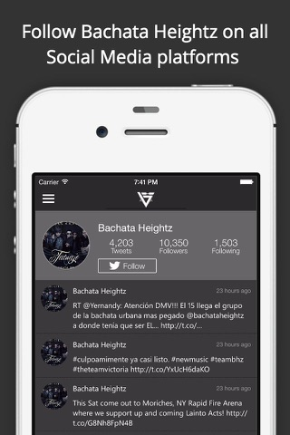Bachata Heightz screenshot 1