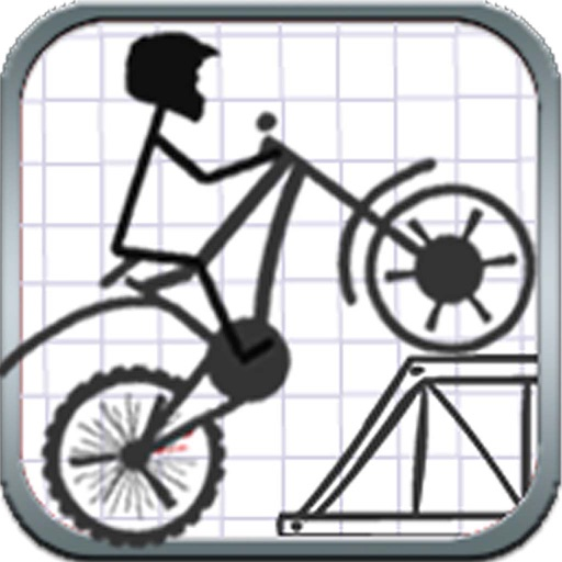 Stickman Stunt Bike iOS App