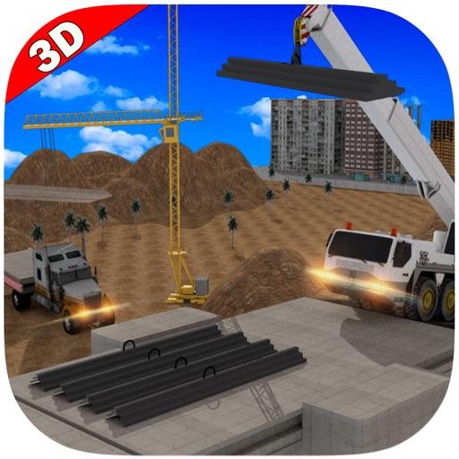 Bridge Builder Crane 3D