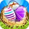 Smash Easter Eggs HD-Easy match 3 game for everyday fun