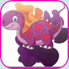 jurassic coloring book -  dinosaur games Learning Book for Kids