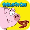 Animals relations : learning education games for child development fun and free