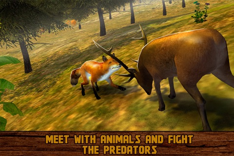 Forest Deer: Wild Survival screenshot 3