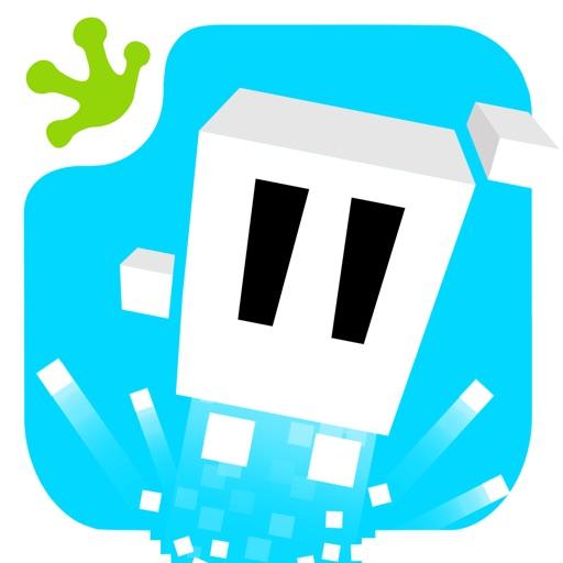 Clumsy PixelMan - 8 Bit Retro Runner Game