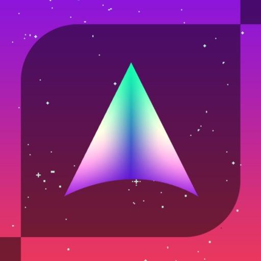 Shape-Ship Run - Endless Spaceship Arcade Game iOS App