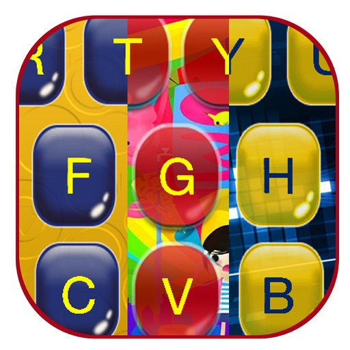 Custom Keyboard Maker – Cool Emoji Keyboards with Rainbow Background Themes & Beautiful Fonts iOS App