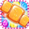 Sugar Crack 6 - Best trivia game of match color candy to pop bubble