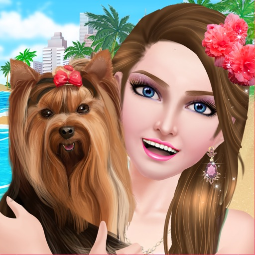 Fun with Pets: BFF Beauty Salon Day - Spa, Makeup & Dressup Makeover Game for Girls iOS App