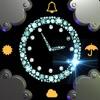 Time Clock-Wettervorhersage Freie