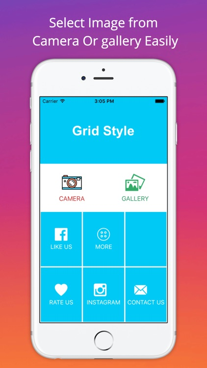 Grid Style for Instagram - Instagrid Post Banner sized full size ...