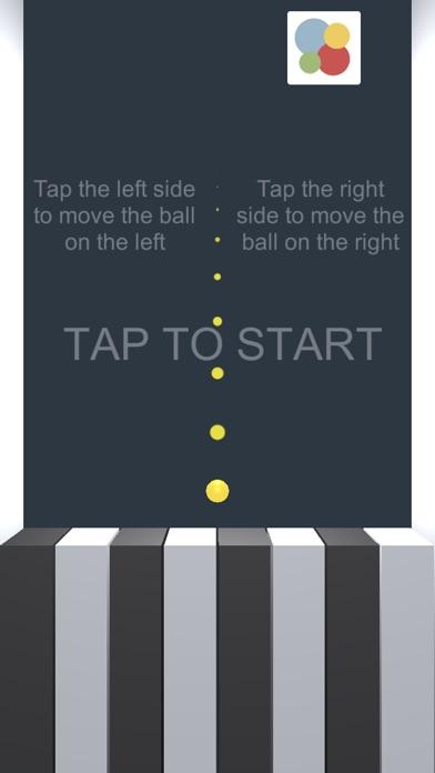 Piano & Ball Screenshot