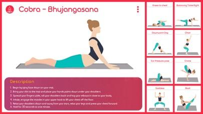 yoga asanas på svenska