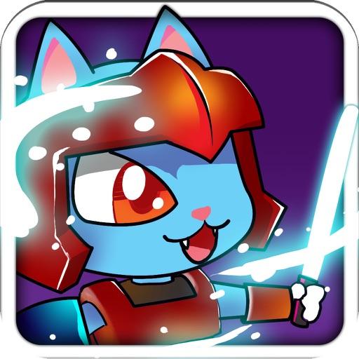 Lightsaber Cat Mega Curvulate War iOS App